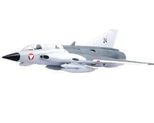 EDO Draken J35F grå PNP
