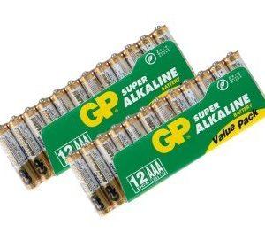 GP AAA/LR03 paristot 12 kplx2 / 24-p