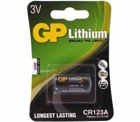 GP CR123A  3V Lithium