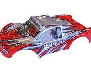 HSP Desert Rally kori punainen/silver