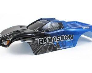 Kaross Ramasoon Truck blå 1/10 BSD