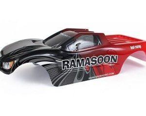Kaross Ramasoon Truck röd 1/10 BSD