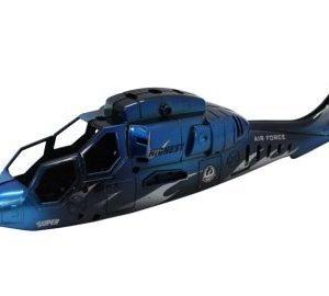 Koppa sininen kokonainen Battle Helicopter