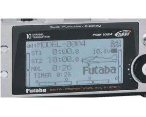 LCD-näyttö 10Z Futaba