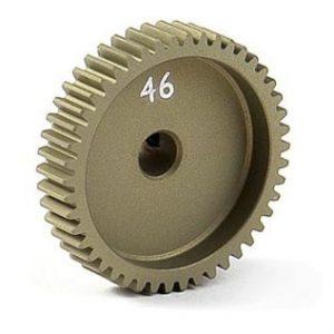Pinjoni 46T 64P alumiini XRAY