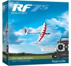 RealFlight 7.5 Tactic TTX610 Radio och inteface