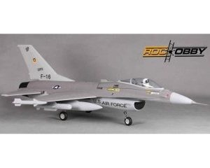 RocHobby F-16 730mm PNP Puhallinkoneella