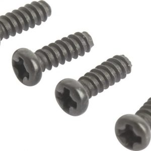 Sword 85148 Round Head Self Tapping Hex Screw 2*6 4pcs