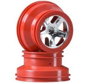 Traxxas 5-Spoke Vanne punainen SC 4WD
