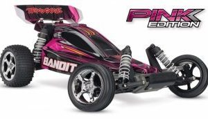 Traxxas Bandit 2WD 1/10 Courtney/Pink ed.
