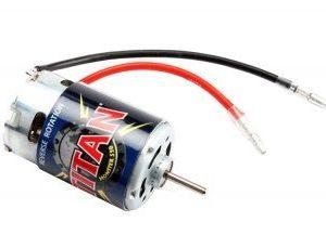 Traxxas Titan 550 sähkömoottori - reverse rotation