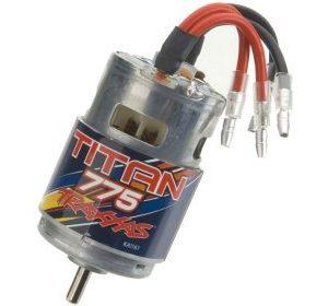 Traxxas Titan 775 sähkömoottori